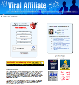 My Viral Affiliate Site: Promote Multiple Affiliate Programs At Once